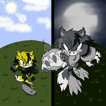 Bolt - Day and Night by Lycaon-the-Wolf