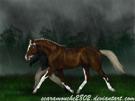 Dancing in the rain by scaramouche2802