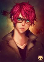 Portrait Commission: Natsu by Yaoi-World