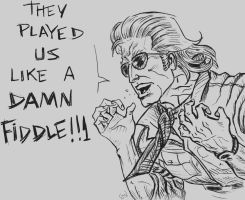 Kazuhira Miller: Played like a DAMN FIDDLE. by guilhermerw