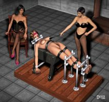 DA Ladies Dungeon - Wondercuria-dd by Driver651