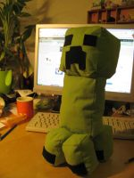 Creeper Plush by Killerkaninchen
