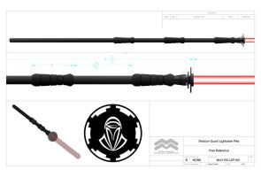 ESG Lightsaber Pike Lite by TrapperMitch