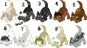 Puppeh Adoptables - Open by KittehzAdopts