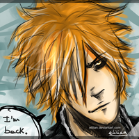 Bleach - He's back. by Elilian