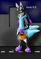Silver's Halloween 'Costume' by MacroBlazikenSilver