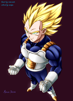 Super Vegeta collab by carapau