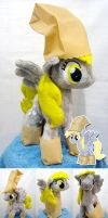 Derpy Hooves Nightmare night Plush by Furboz