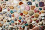 Mosaic of Multicolored Stones by chamberstock