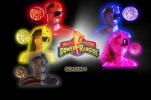 MMPR Season 1 dvd bg by CaptainBarringer