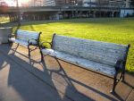 Benches in Portland by NaomiHansen