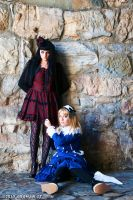 Gothic and Lolita by adaman77
