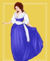 History Fashion Belle - Rococo by storytellersdaughter