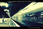 Illegal Railway Station Shot - Split Tone Version by lordlucan