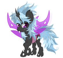 Cloud chaser ( changeling verison) by Law44444