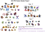 Project-66 fusions so far by Pick-blue