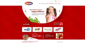 Saadet Gida Web Design by ThanRi