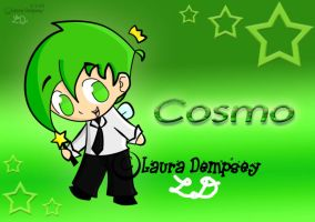 FOP-Chibi Cosmo by Perry-the-Platypus