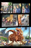 Fighting Evolution- HAUZER by UdonCrew