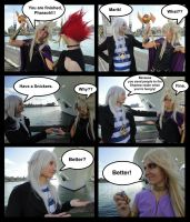 Marik, have a snickers by Julesie