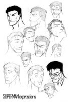 Superman Expressions by AndrewKwan