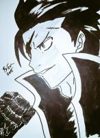 Gray 'Black Ice' Fullbuster by SimpleTheSaviour