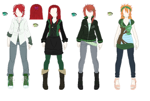 The Crimson Haired Green Willows by kuloi-no-chloe