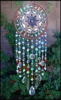 Clay and Crystal Dream Catcher by andromeda