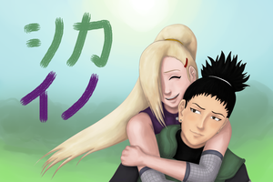 ShikaIno for KikuNakatsukasa ^-^ by timii95