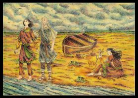 Over the sea lies Valinor by Hemhet