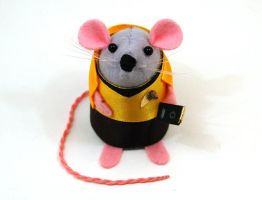 Captain James T Kirk Mouse by The-House-of-Mouse