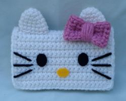 hello kitty phone case by TheArtisansNook