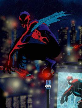 Spiderman 2099 by acarabet