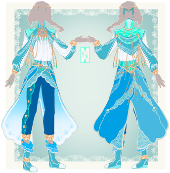 :Comm: outfit for Khalil by MMtheMayo