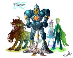 Wizard of Oz - Tinman by ryuzo