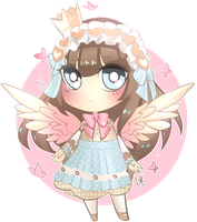Little Cherub Angel by Rumbl3Fish