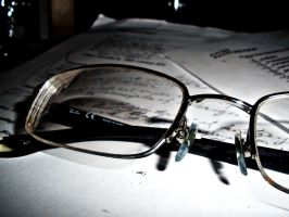 Glasses in Light by meggyweggy