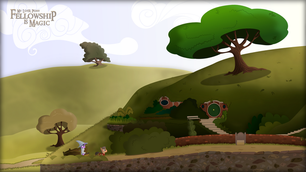 The Shire: Bag End by shadowdark3