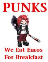 Punks by HeroThief