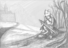 Redwall - The Warrior by Realms-Master