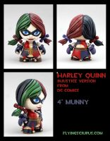 Injustice Harley Quinn custom munny by FlyingSciurus