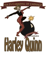 The Explosive Harley Quinn by akatheToad