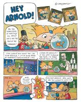 Hey Arnold Goldfish Comic Pg01 by shermcohen