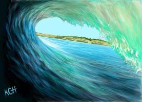 Wave-tube by Artist-KGH