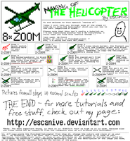 Making of the helicopter by escanive