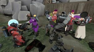 Purple Team vs The Machines by mRcracer