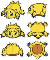 Joltik Anatomy by RacieB