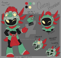 Quetzalcoatl Bomber mini reference by Clown-Grin