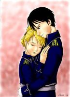 Royai couple by Cogy by Royai4ever