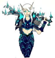 Miss Icereaver - Colored by LunaettaIcereaver